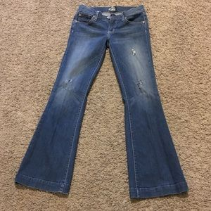 Fossil flare jeans